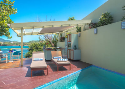 Pool at our private pool villa
