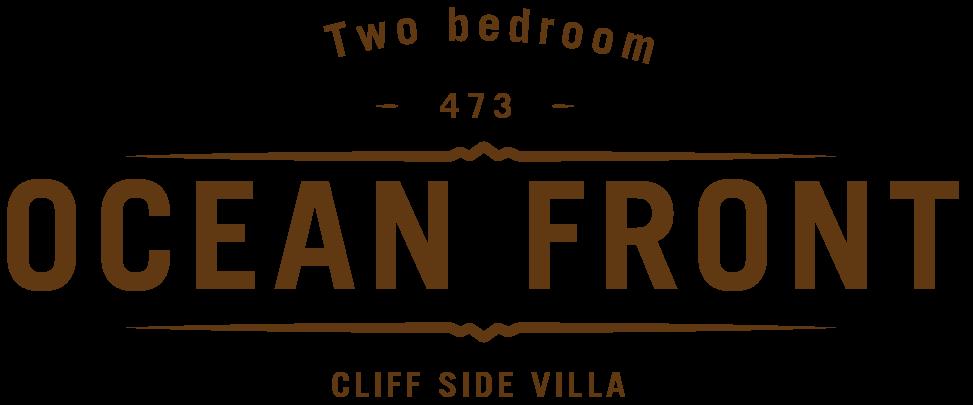 two bedroom ocean front villas