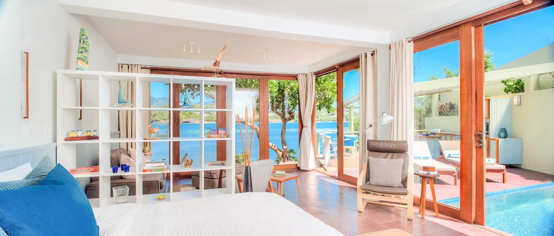 Oceanfront Cliffside Private Pool 1-Bedroom Villa