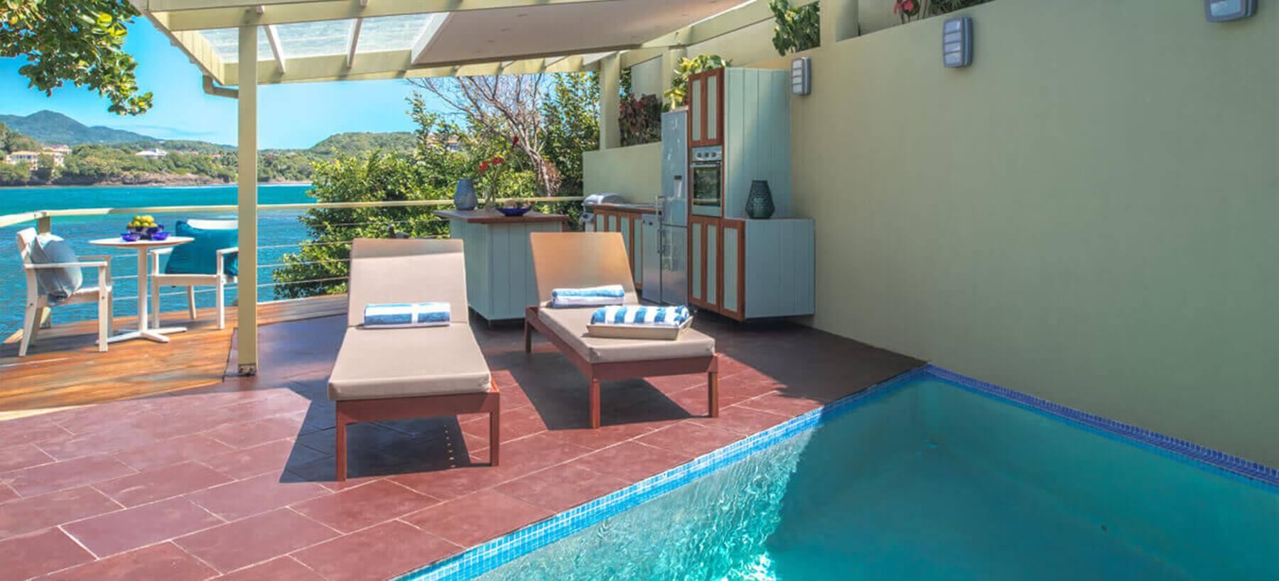 Luxury villa in Grenada with private pool