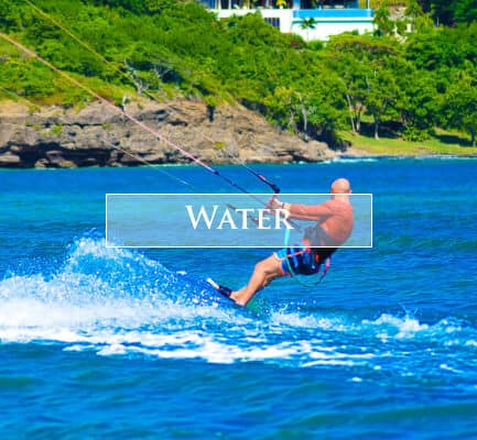 Enjoy water sports in Grenada by staying at 473 Grenada Boutique Resort