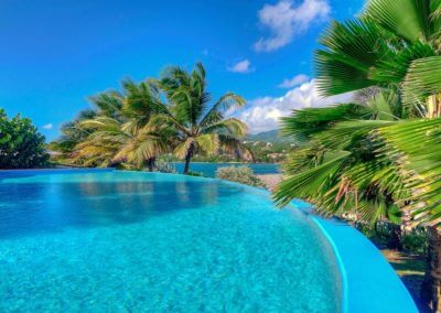 Infinite pool at 473 Grenada Boutique Resort