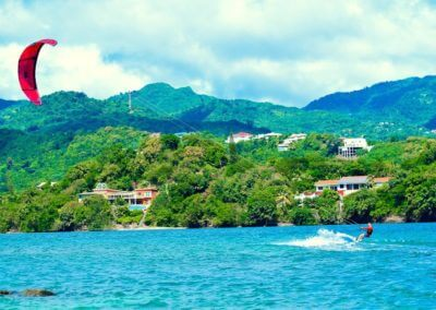Kitesurfing at 473 Grenada Boutique Resort