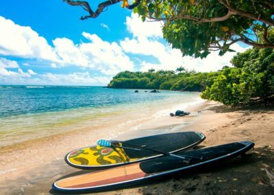 Outdoor paddle board in Grenada