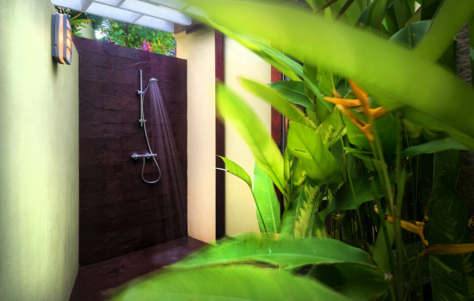 Luxury Villa in Grenada with outdoor shower