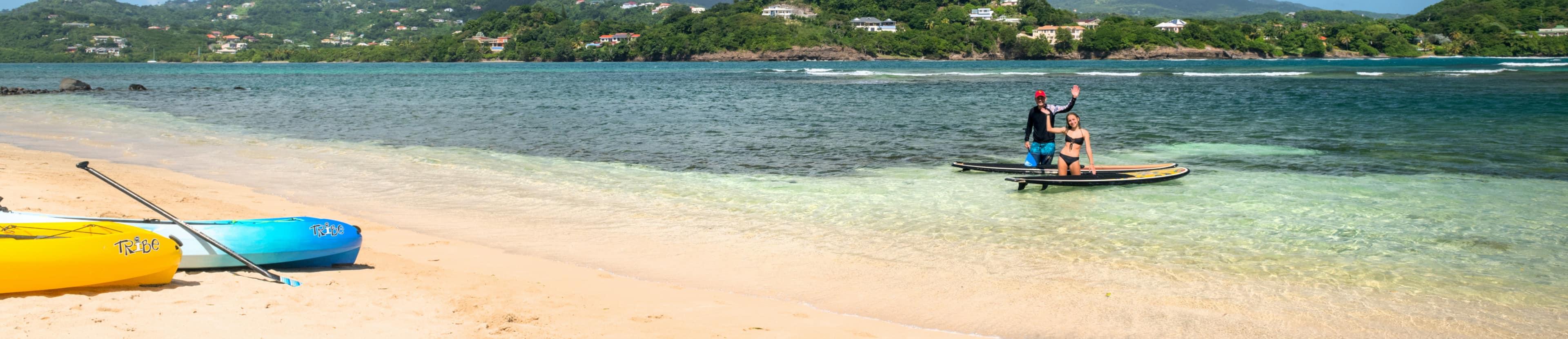 Beach resort in Grenada