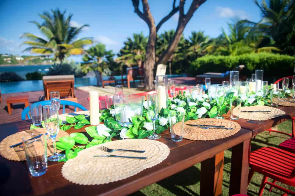 Host your events at 473 Grenada Boutique Resort