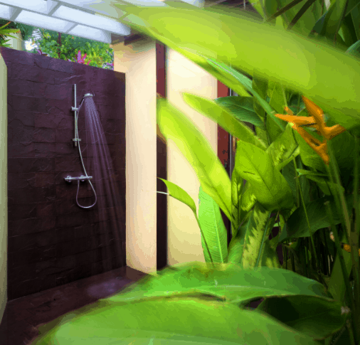 Outdoor Shower luxury villa in Grenada