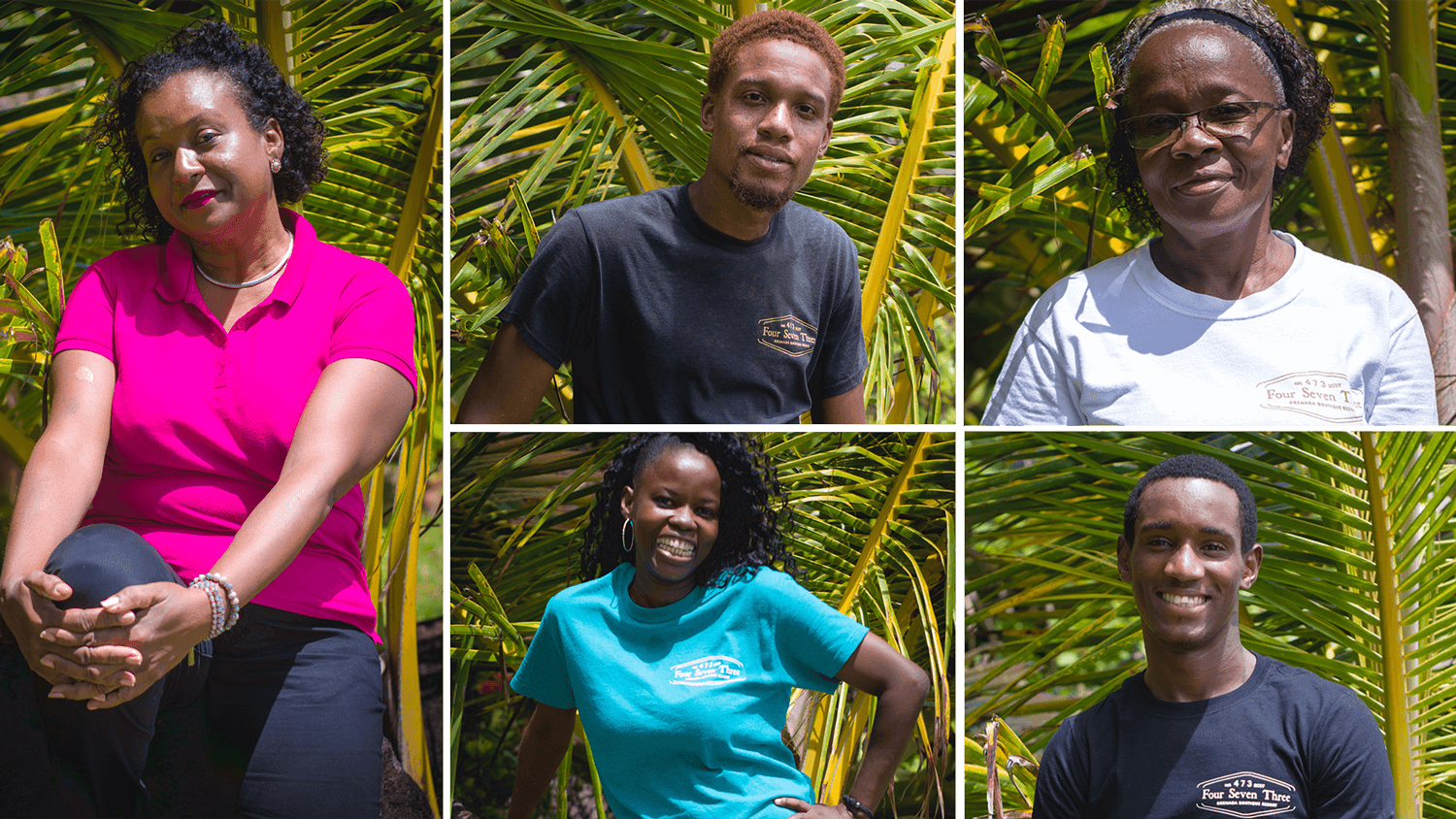 473 Grenada Boutique Resort Staff and Team Members
