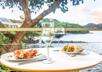 Food services at 473 Grenada Boutique Resort